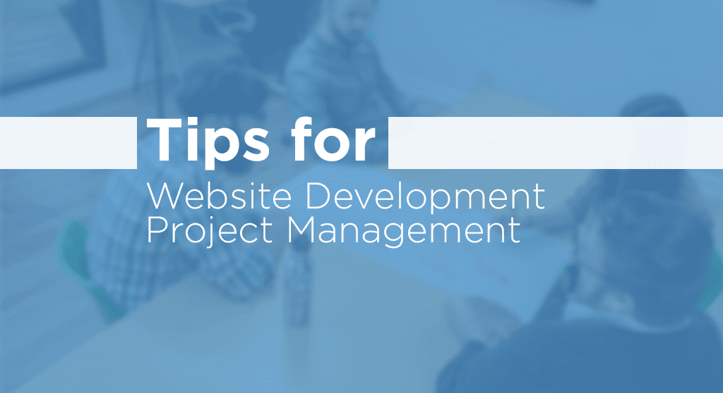 tips for website development project management