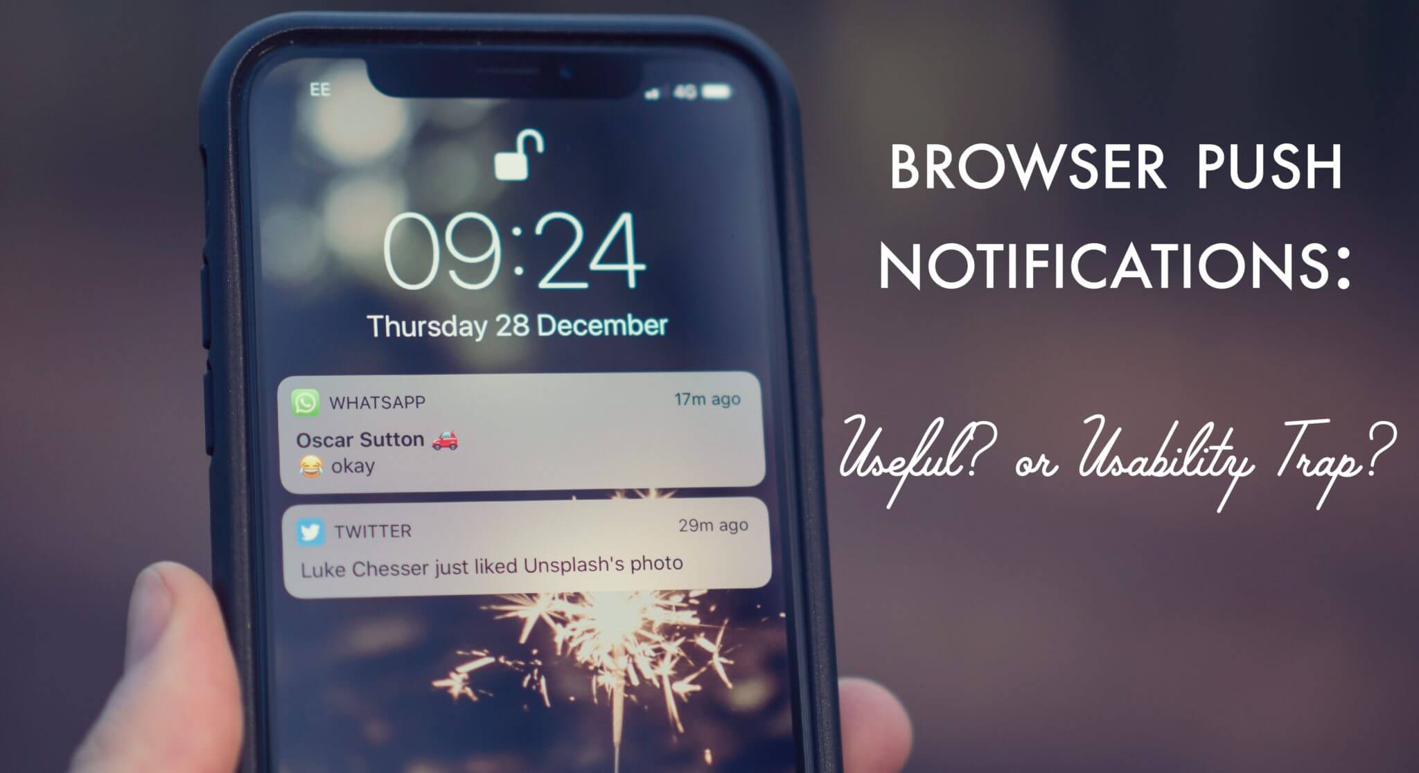 Browser push notifications: useful, or usability trap?
