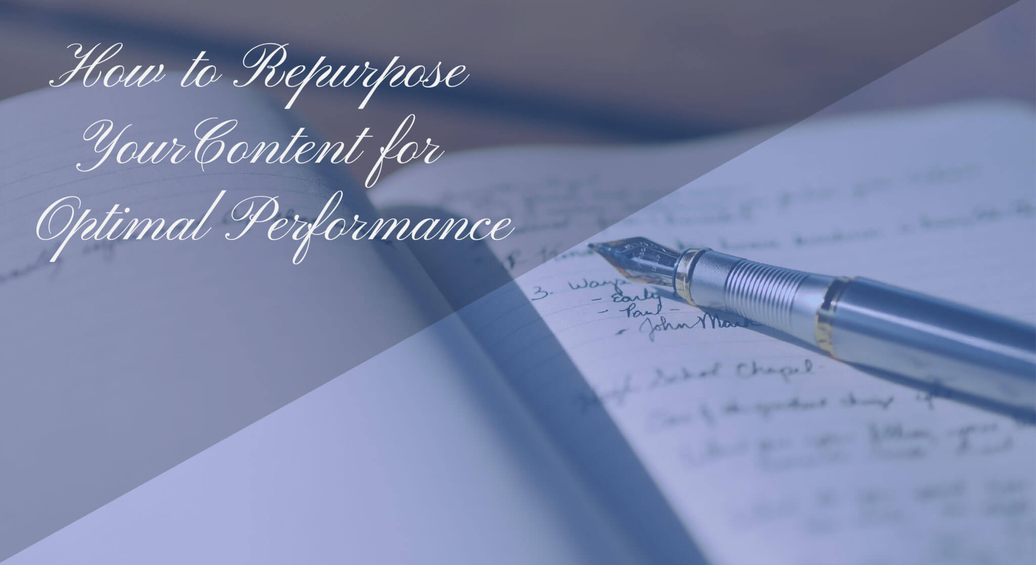 how to repurpose your content for optimal performance