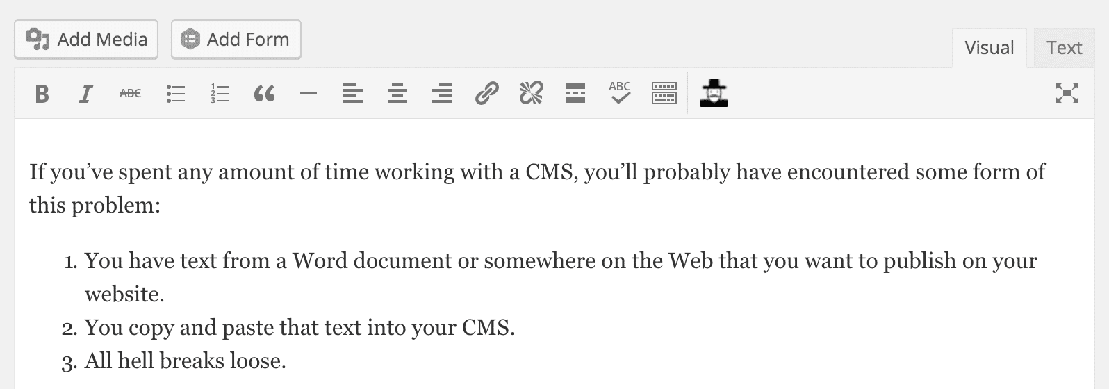 Word, the Web, and the Dangers of Pasting HTML | build/create