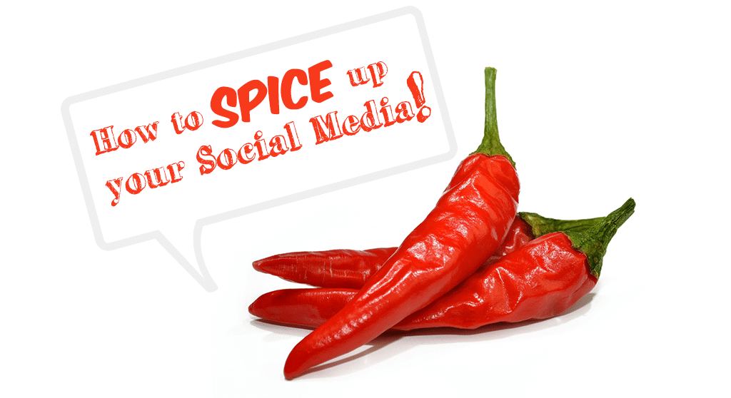 spice up your social media