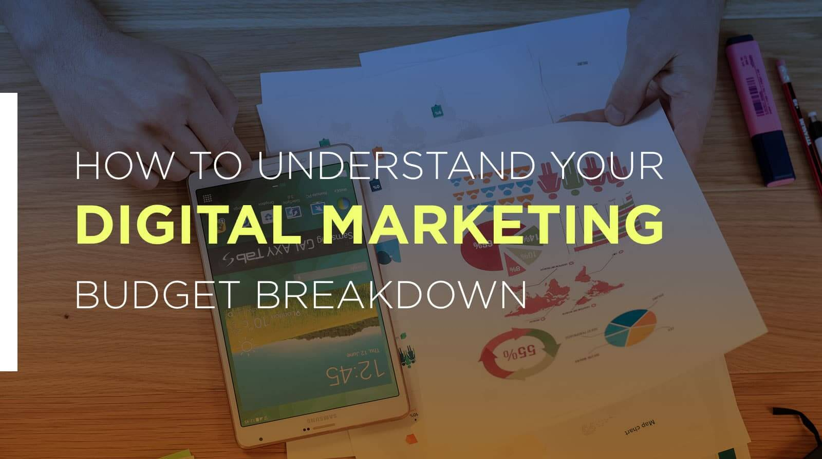 How to Breakdown a Marketing Budget for B2C Businesses