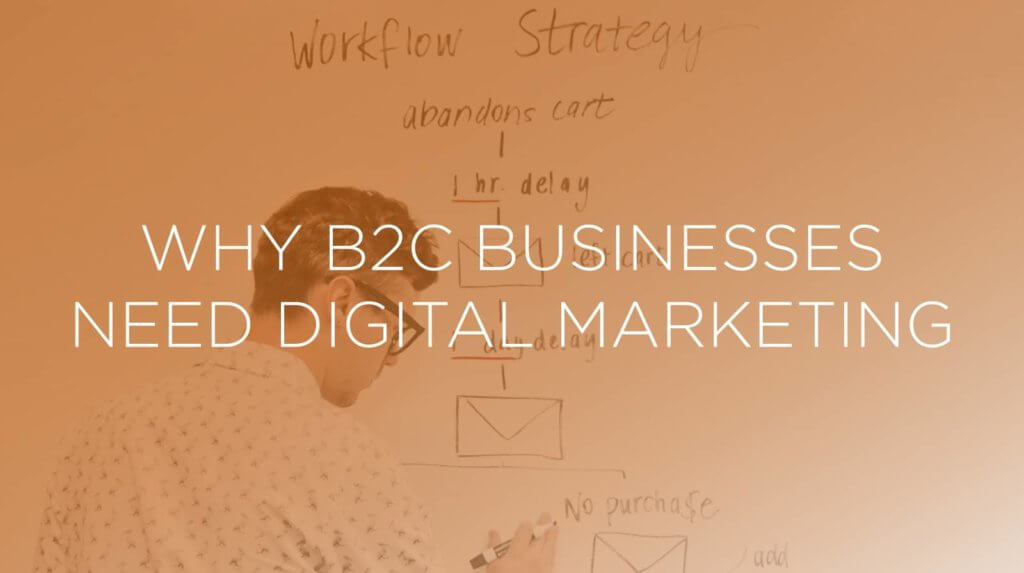 Why B2C businesses need digital marketing